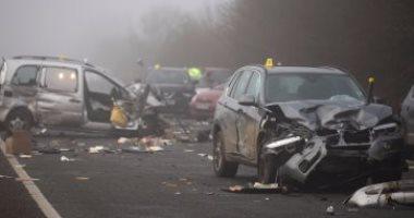 Photo of وفاة شخصين في تصادم بين أتوبيس وشاحنة نقل بالطريق الغربي بأسوان