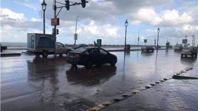 Photo of أمطار غزيرة على الإسكندرية ورفع درجة الاستعداد بجميع الأجهزة التنفيذية