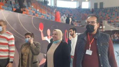Photo of لجنة المتطوعين لبطولة العالم لكرة اليد تتابع التدريبات بصالة برج العرب بالإسكندرية