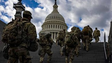 Photo of الإبقاء على 5 آلاف جندي من قوات الحرس الوطني في واشنطن حتى منتصف مارس