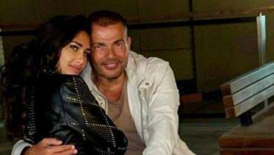 Photo of صور عمرو دياب وفتاة الإعلانات إنجي كيوان .. هل هي قصة حب جديدة؟