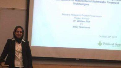 Photo of الكاتبة الصحفية الهام عبد العال تهنيء المهندسة موج الخماسي على اجتيازها امتحان PE